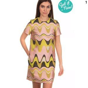 €1390 EMILIO PUCCI Shift Dress Size IT 40 / XS